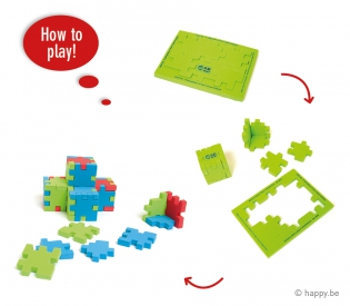 how to play cube puzzle