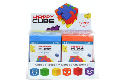 Happy Cube© Original 24 puzzles display