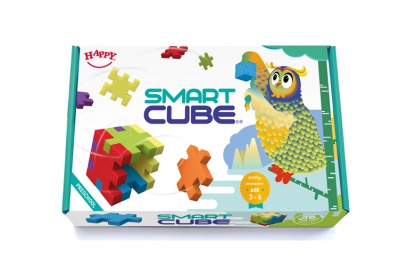 Smart Cube box with 5cm cubes and challenge cards