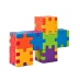 Dog multicolour construction - Smart Cube foam puzzles