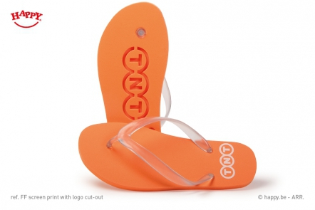 b321a5efb743d3 Leave your logo in the sand with a Flip Flop logo cut-out